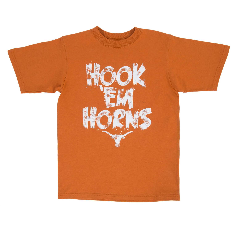 NCAA Texas Longhorns Hookem Youth Graphic Tee