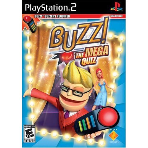 BUZZ: The Mega Quiz - Game Only (PS2)