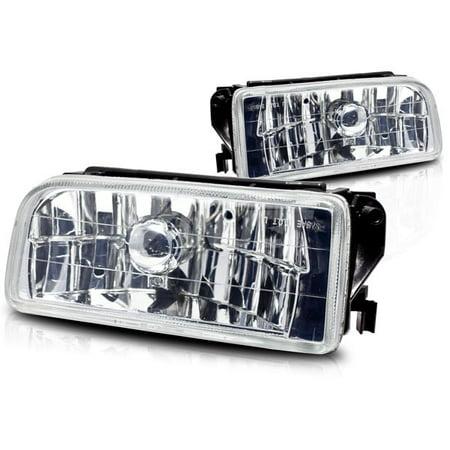 Bmw M3 Fog Light - 92-98 BMW E36 & M3 Clear Fog Lights