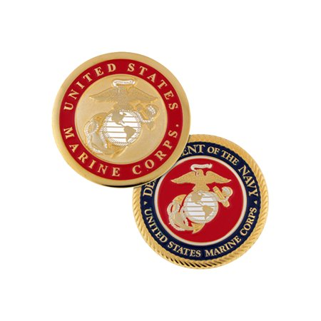 United States Marine Corps Commemorative Challenge Coin Veterans Day Gift War Veteran Challenge Coin