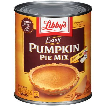 (2 Pack) LIBBY'S Easy Pumpkin Pie Mix 30 oz Can