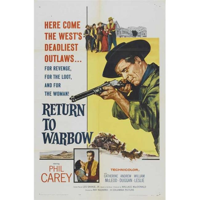 Posterazzi MOVGB01553 Return to Warbow Movie Poster - 27 x 40 in. - image 1 de 1