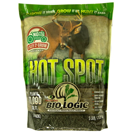 Mossy Oak BioLogic Hot Spot No Till Throw & Grow Food Plot Seed For Deer