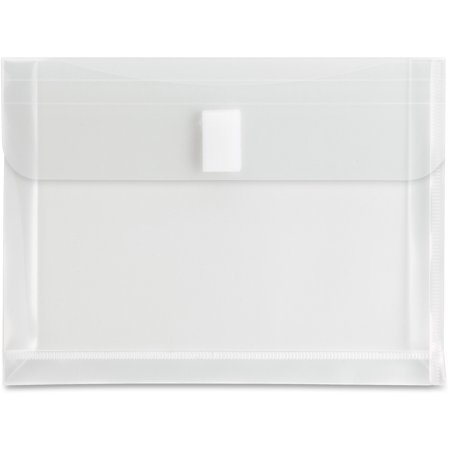 - Sparco, SPR02293, Top Opening Poly Envelopes, 1 Each, Clear