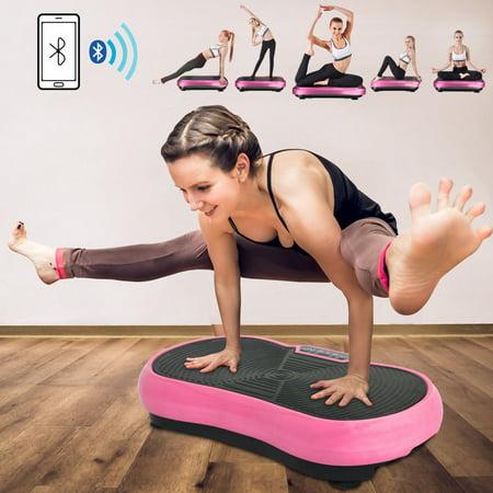 Zeny Crazy Fit Massage Machine Full Body Vibration Platform Fitness Exercise Workout (Vibrating Workout Machine)