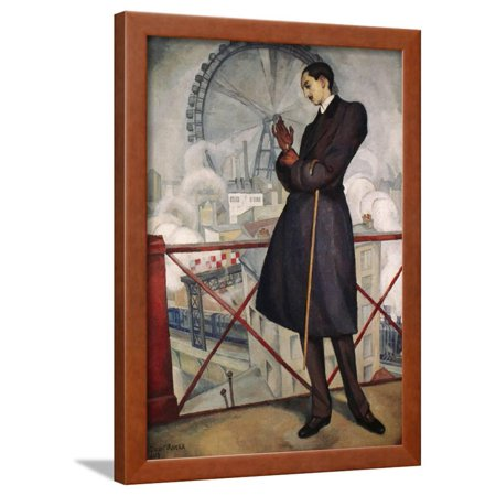 Adolfo Best-Maugard (1891-1965), 1913 Framed Print Wall Art By Diego