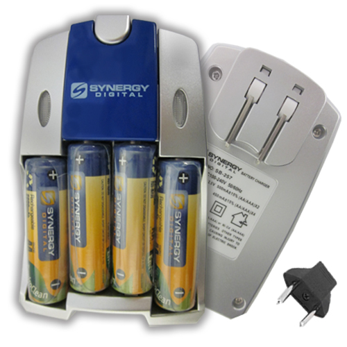 Olympus C-300 Digital Camera Battery Charger Replacement for 4 AA NiMH 2800mAh Rechargeable Batteries with Charger