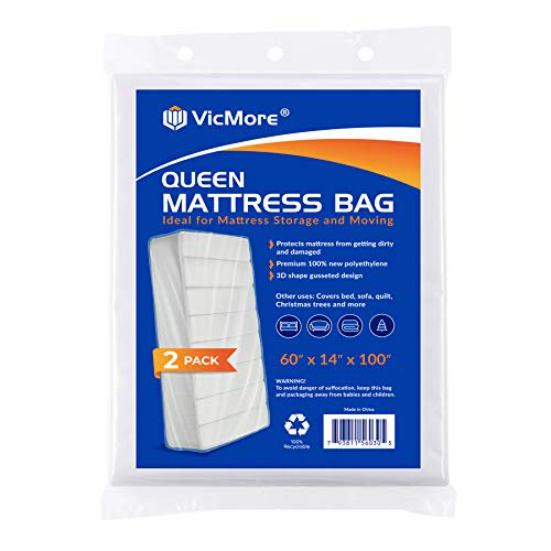 Vicmore 2 Pack Queen Size Mattress, Bed Mattress Storage Covers