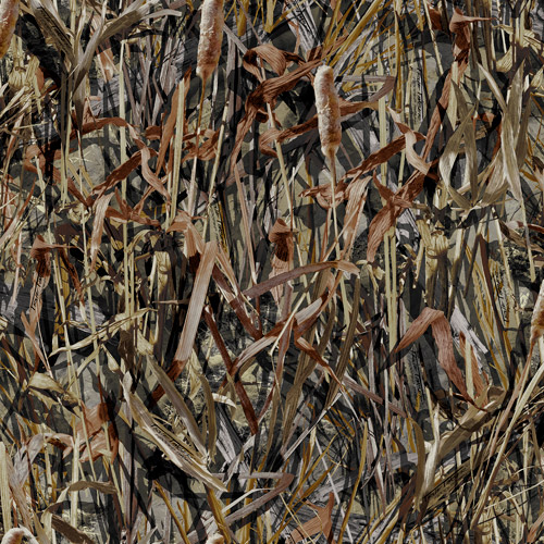 Springs Creative True Timber Camo 100% Polyester Pongee Fabric by the Yard, Flooded Timber