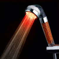 practical LED Shower Magnetic Therapy SPA Dechlorination Shower Pressurized Shower Nozzle