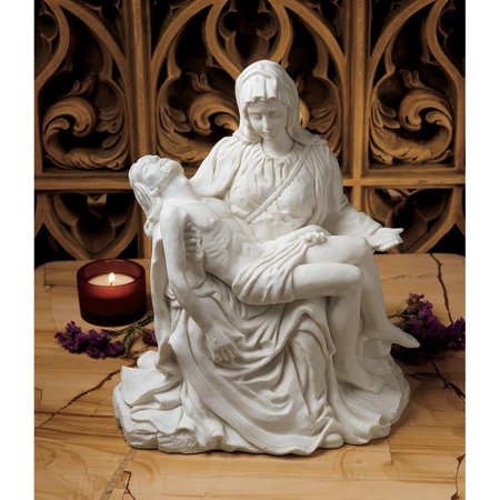 - Design Toscano The Pieta (1499) Bonded Marble Statue: Large
