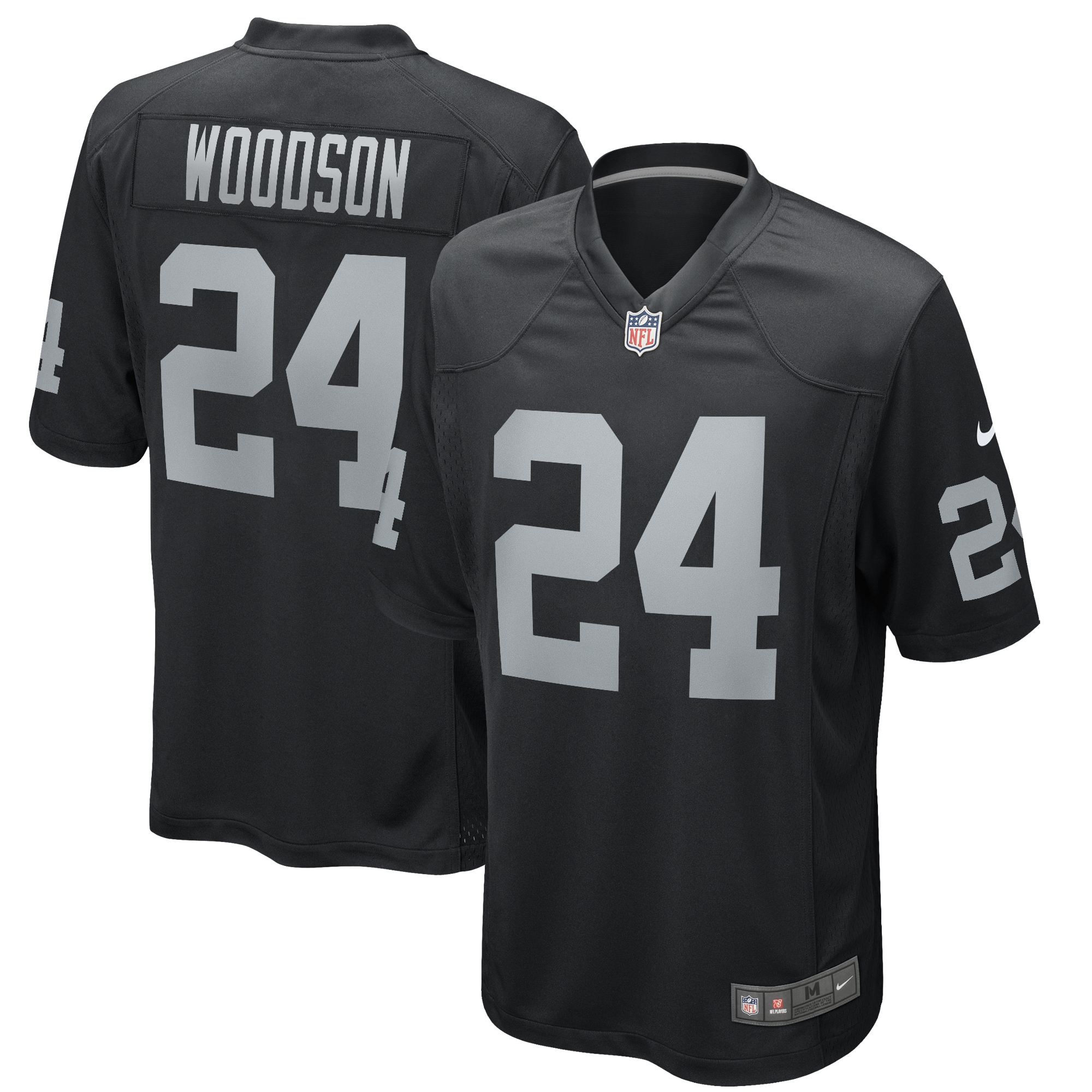 Charles Woodson Las Vegas Raiders Nike Game Retired Player Jersey - Black - Walmart.com