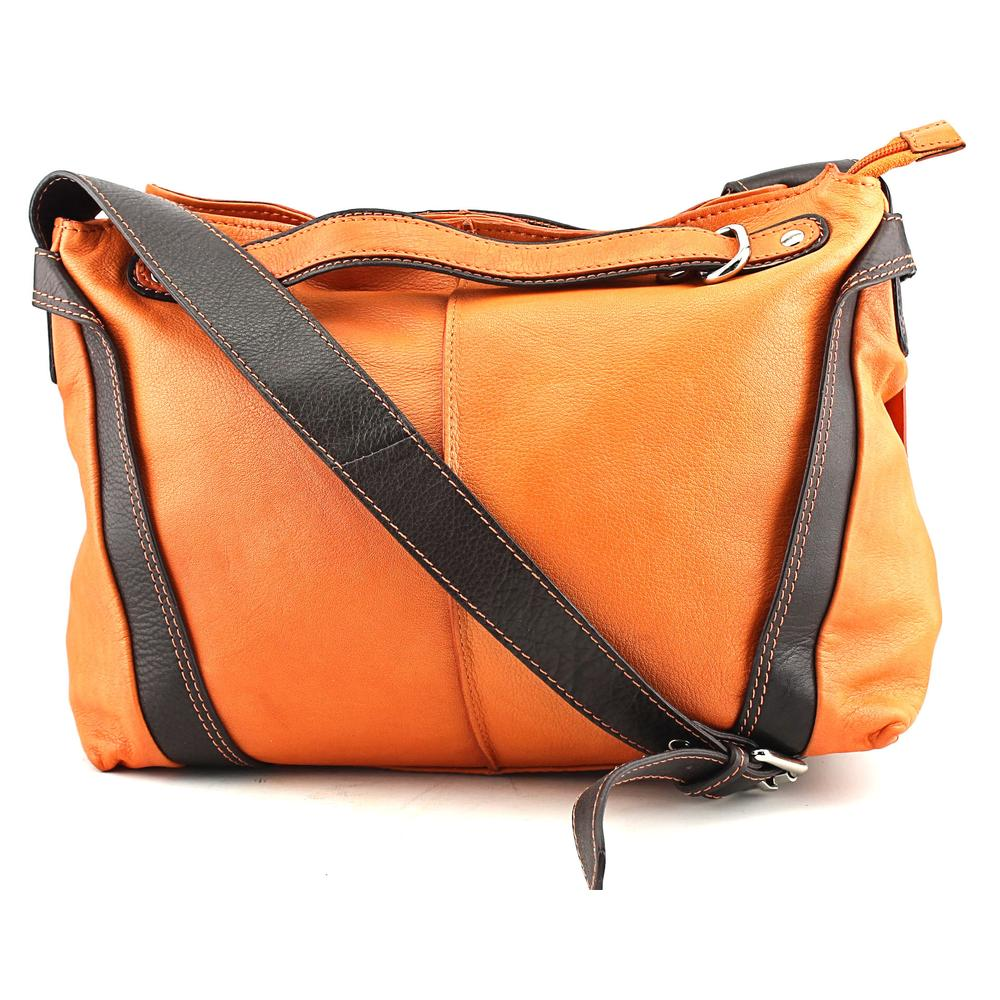 Nino Bossi 7113 Women Orange Messenger NWT