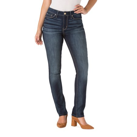 Signature by Levi Strauss   Co. Women's High Rise Slim Jeans - Walmart.com db3386b90505
