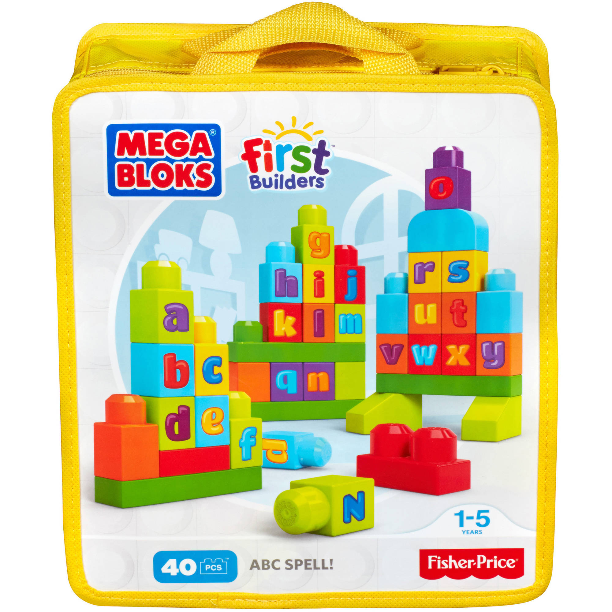 Mega Bloks First Builders ABC Spell Playset