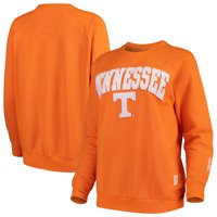Tennessee Volunteers Pressbox Women's Sierra Retro Fleece Applique Sweatshirt - Tennessee Orange