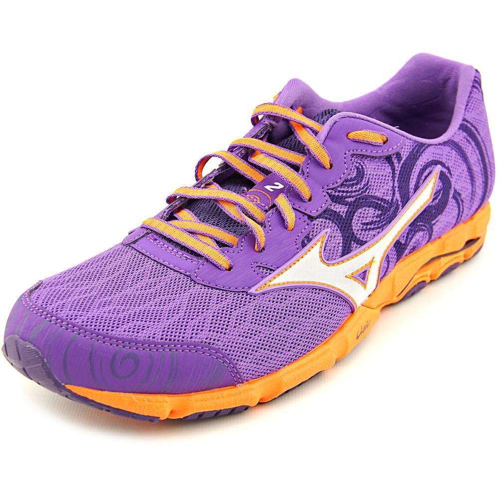 Mizuno Wave Hitogami    Round Toe Canvas  Running Shoe