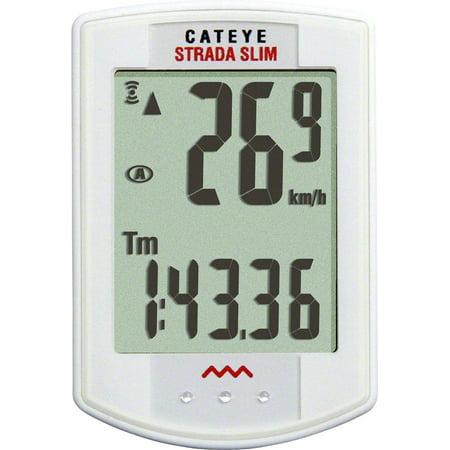 CatEye Strada Slim Wireless Cycling Computer CC-RD310W: White