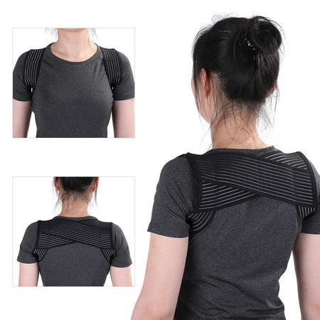 Posture Correction Belt,YMIKO 2 Sizes New Adult Humpbacked Prevent Posture Correction Shoulder Back Support Belt , Shoulder Support