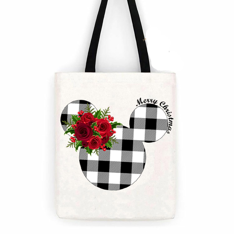 Cotton Bag Mouse-black