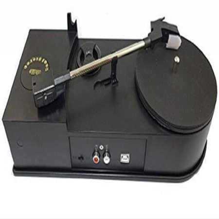Bestland Usb Phonograph Turntable 33 45rpm Vinyl Audio Player Convert Lp Record To Cd Or Mp3 Supports Windows Xp Vista 7 Mac