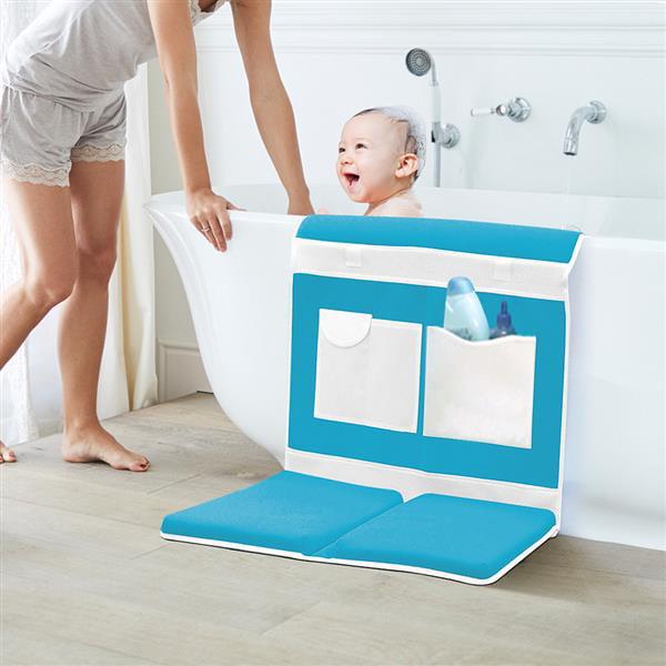 Yaheetech Bathtime Safety Easy Kneeler w/Elbow Rest Blue