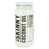Skinny & Co. - Raw Wild Harvested Alkaline Cold Pressed Unrefined Virgin Coconut Oil - 16 fl. oz.