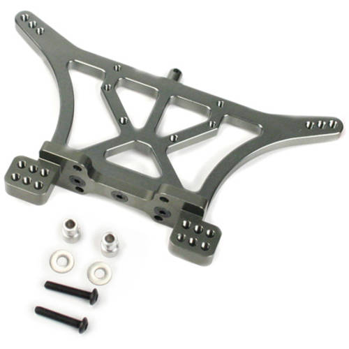 Alloy Rear Shock Tower for Traxxas Slash 2WD, 1:10, Grey