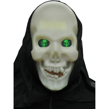 Skull Glow Hologram Adult Halloween Accessory