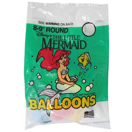 Ariel the Little Mermaid Vintage Latex Balloons (8ct)