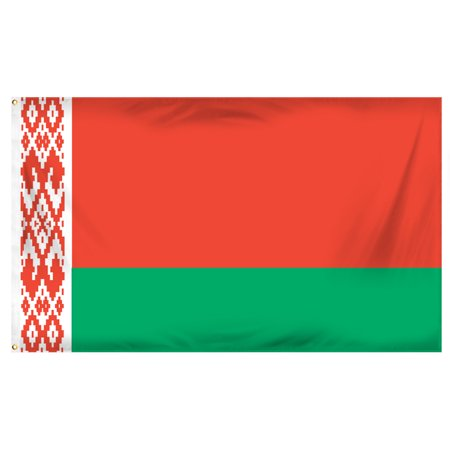 - Belarus 3ft x 5ft Printed Polyester Flag