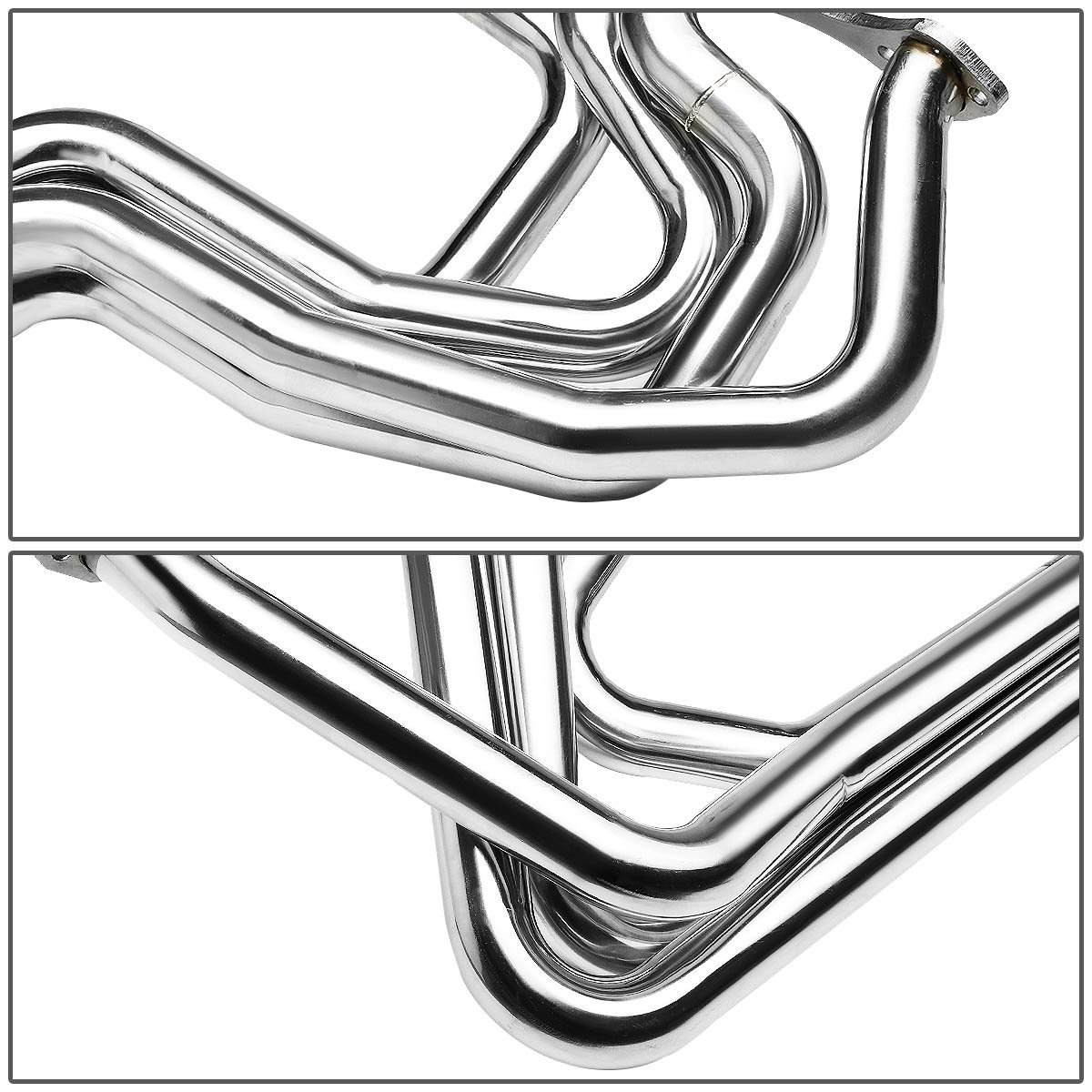 For Chevy Small Block V8 Imca Circle Track Chrome 4 1 Performance
