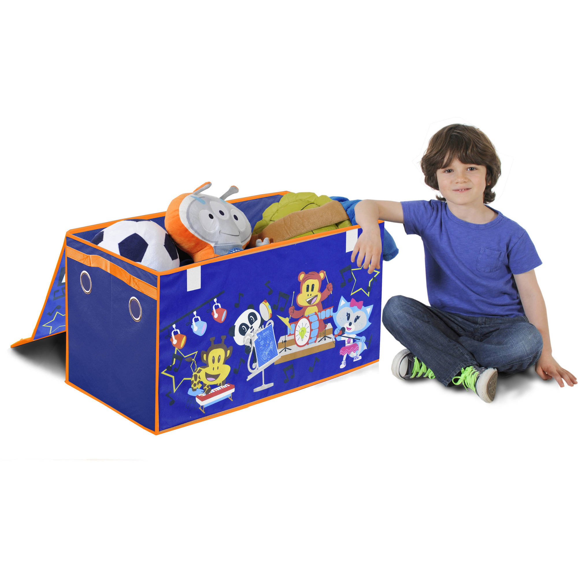 Nickelodeon Julius Jr. Collapsible Storage Trunk