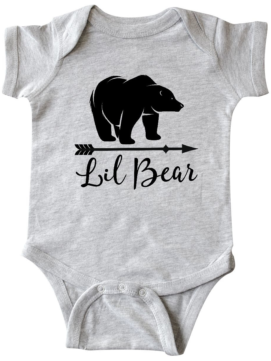 Baby Wearing a Tie Long Sleeve Creeper inktastic Little Man Baby Silhouette