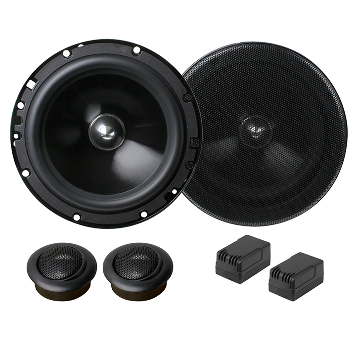 "Planet Audio TQ60C ANARCHY Series 6.5"" 2-Way Component Speaker System"