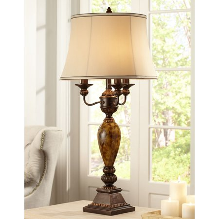 1 Iris Table Lamp - Kathy Ireland Mulholland 6-Way Traditional Table Lamp