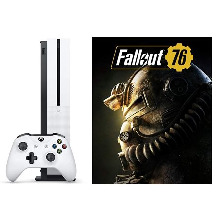 Microsoft Xbox One S 1TB Fallout 76 Bundle: 1TB Xbox One S Gaming Console with Blu-Ray Disc Player and Fallout 76