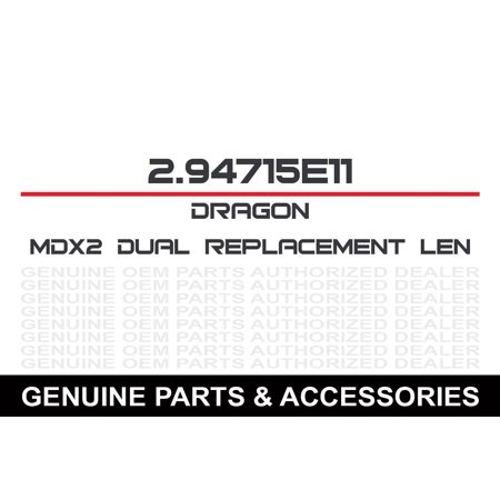 Mdx2 Dual Lens Red Ion S/M ()