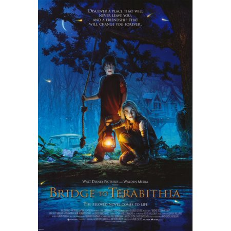 Bridge To Terabithia  2007  11X17 Movie Poster