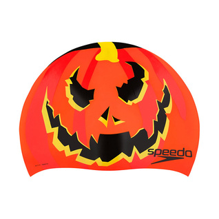 Speedo Swim Cap ORANGE HOLIDAY