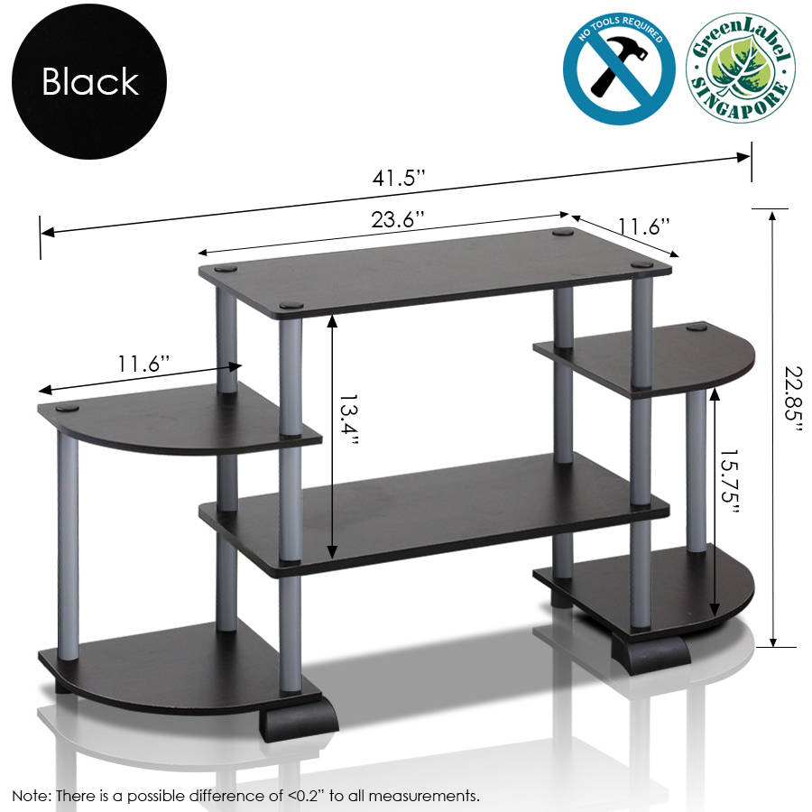 Furinno Turn N Tube Tv Stand For Tv Up To 37 Multiple Colors