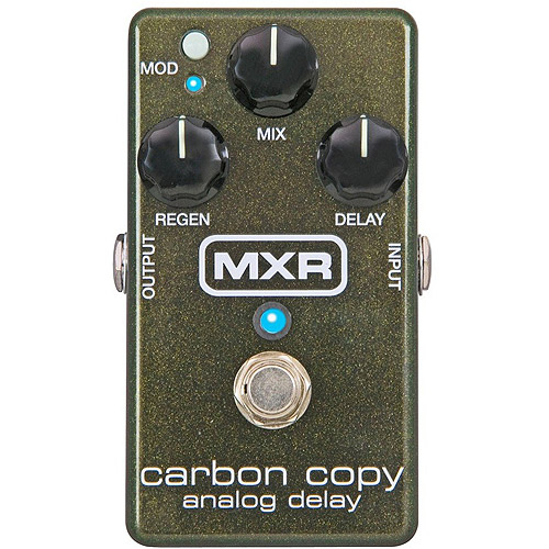Dunlop MXR M169 Carbon Copy Analog Delay Pedal by Dunlop
