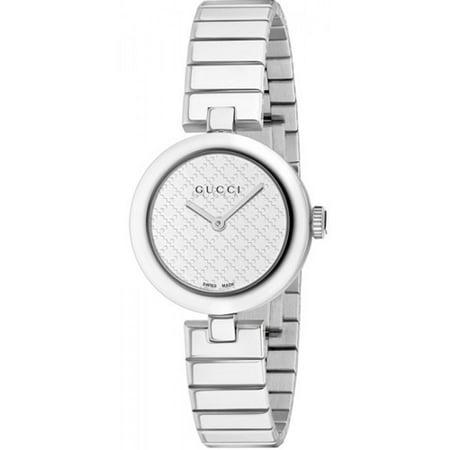 Gucci Women's Diamantissima Watch Quartz Sapphire Crystal YA141502