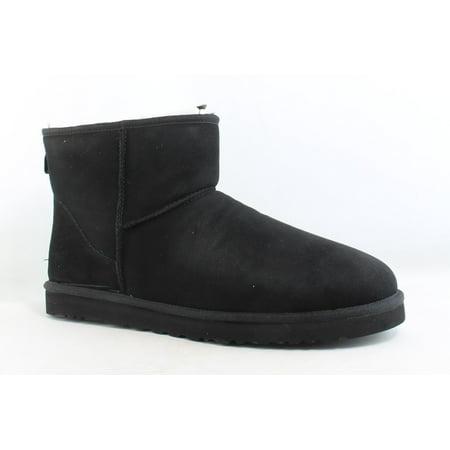 UGG Mens Classic Mini Black Snow Boots Size 18 ()