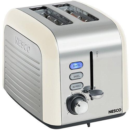 Nesco 2-Slice Toaster, Cream