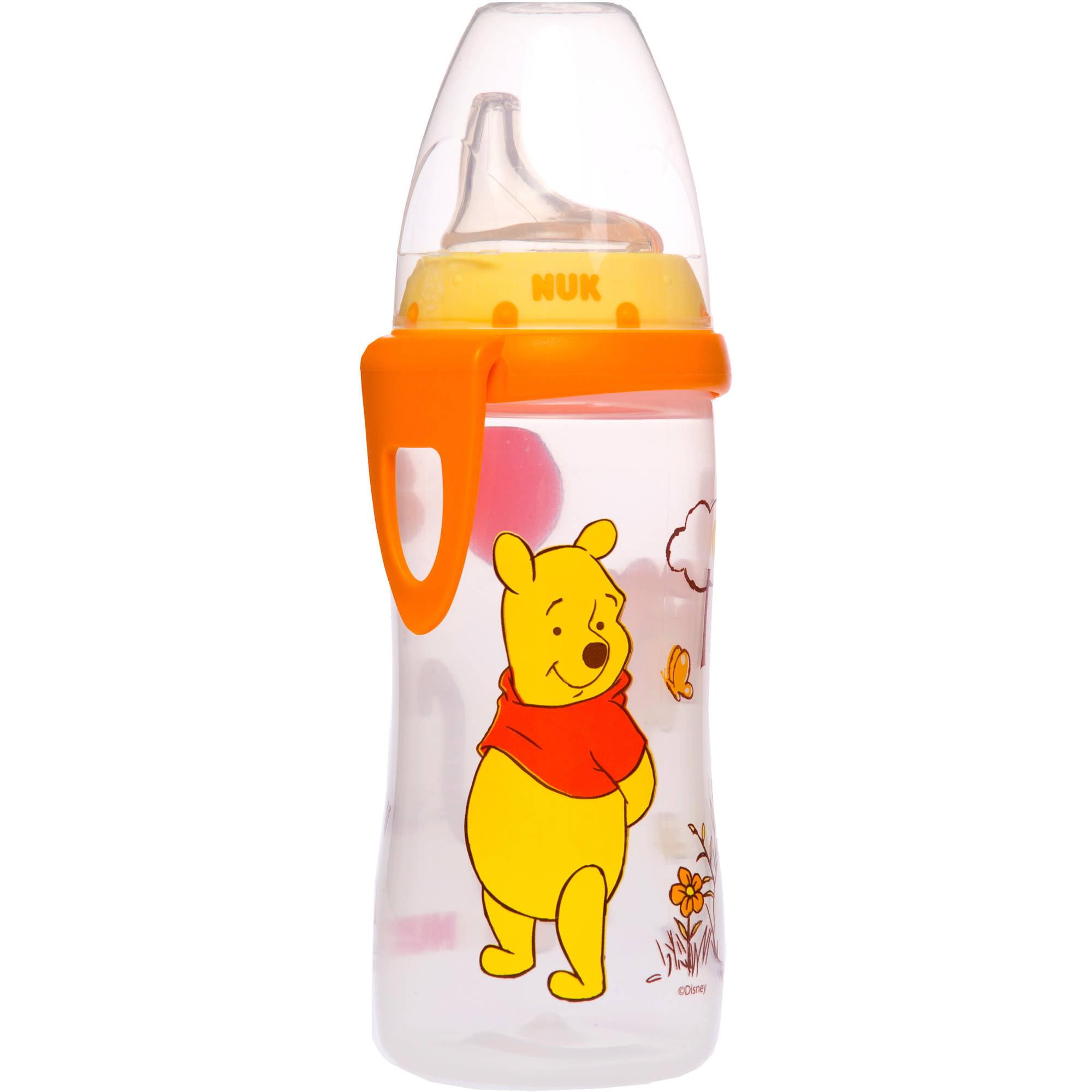 NUK - Disney Winnie the Pooh 10oz Silicone Spout Active Cup, BPA-Free