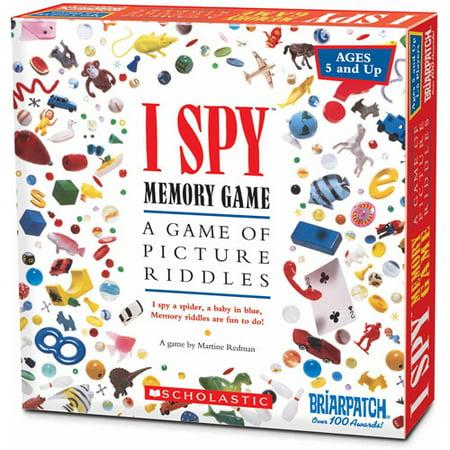 I Spy Memory Game By Briarpatch