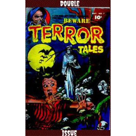 Beware Terror Tales Double Issue Comic - - Halloween 30 Years Of Terror Comic Book