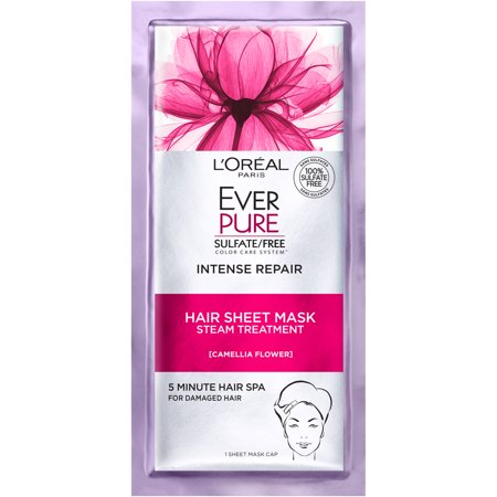 L'Oreal Paris EverPure Intense Repair Hair Sheet Mask 1 FL OZ