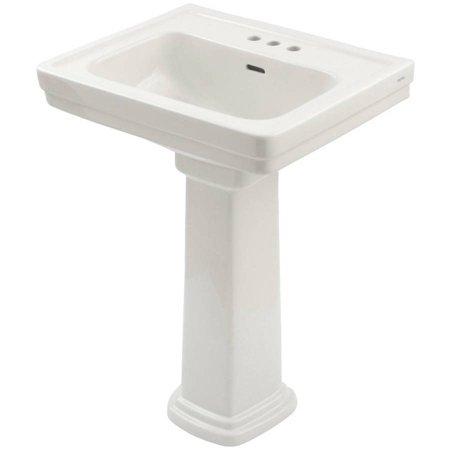 White Pinoir Bathroom Sink - Toto Promenade 24